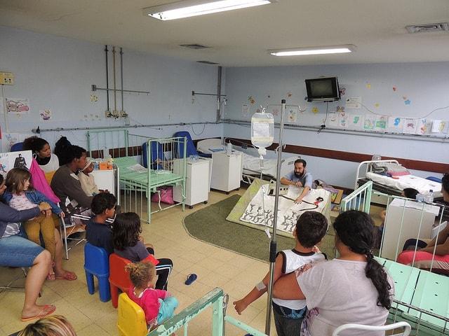 plateias hospitalares
